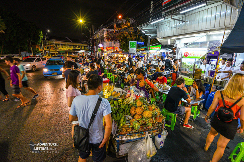 Night Time in Bangkok, Khao San Road