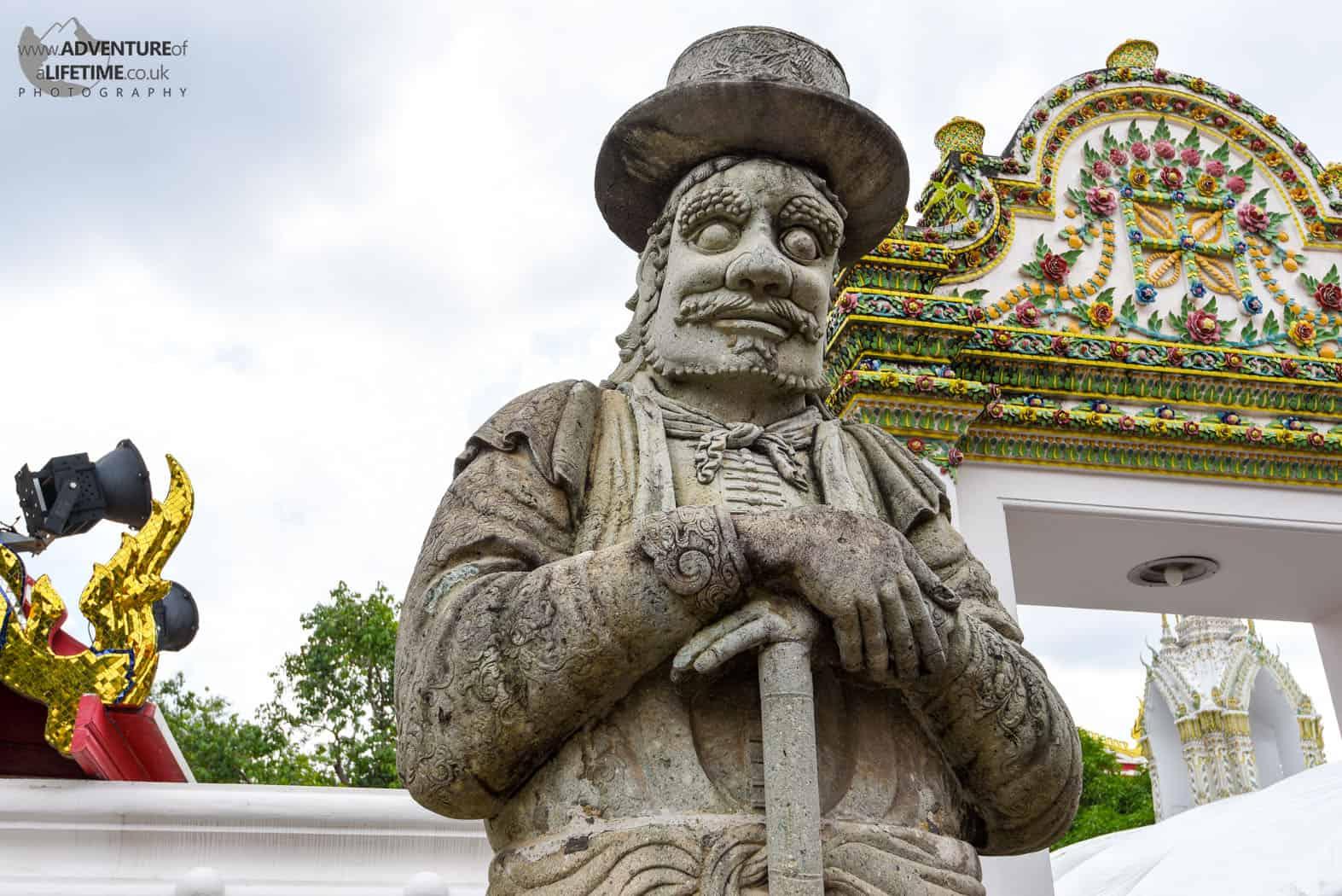 Stone Man Grand Palace Bangkok