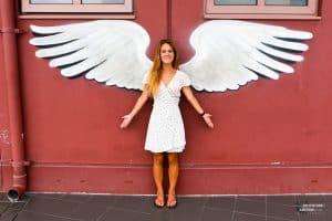 Street Art Angel Kuala Lumpur
