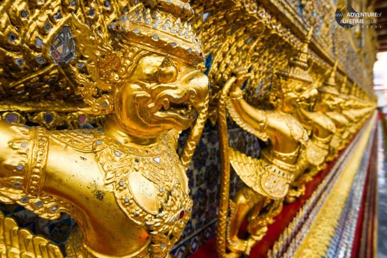 Golden Warrior Grand Palace, Bangkok