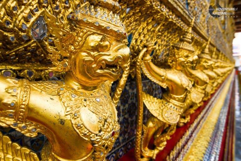 Golden Warrior Grand Palace, Bangkok