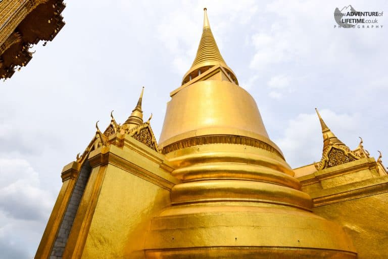 The Grand Palace Golden Building