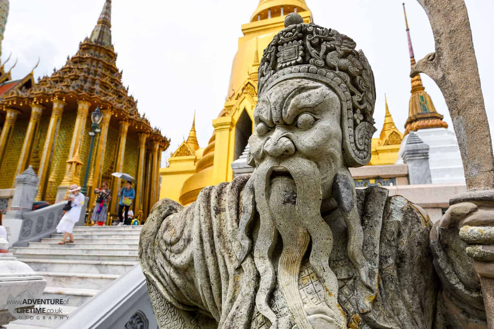 The Grand Palace Stone Statue