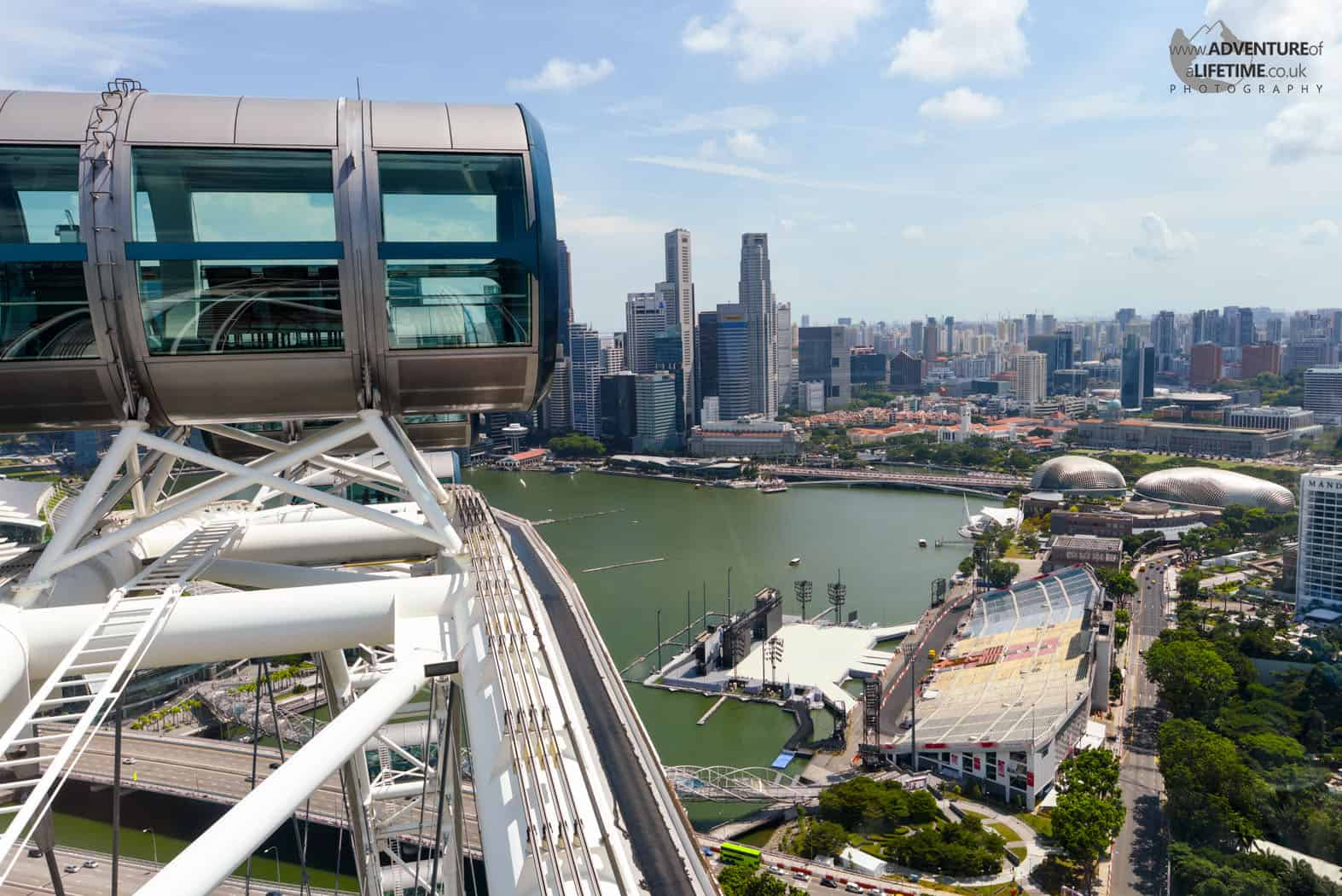 Top of The Singapore Flyer