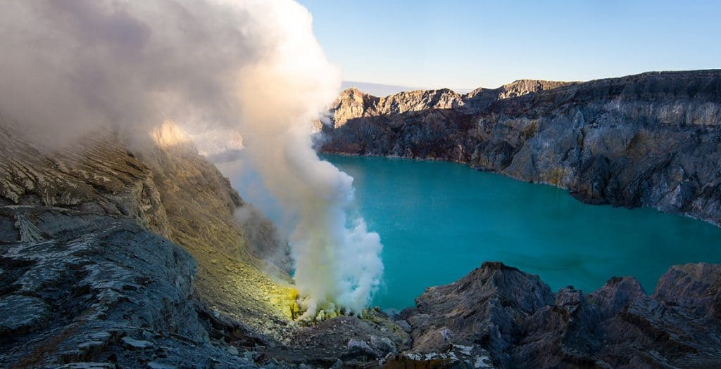 Ijen Volcano, from our travels around Indonesia