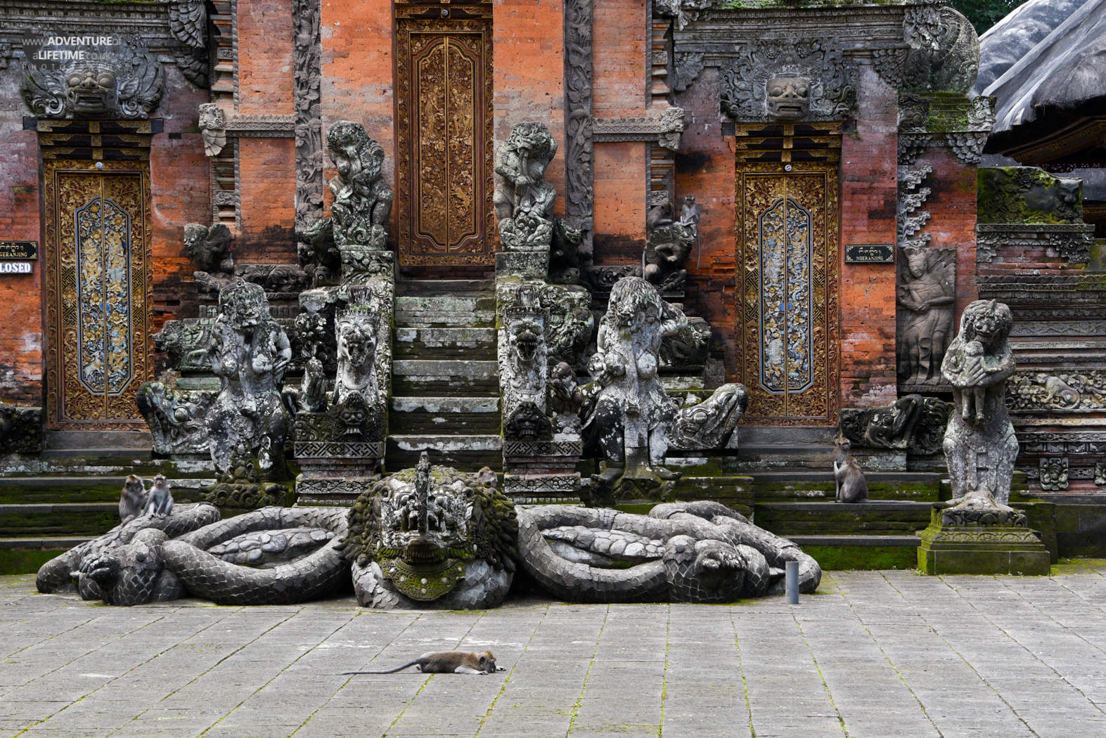 Sacred Monkey Forest temple in Ubud