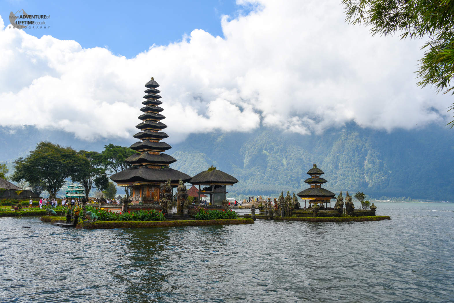 Pura Ulun Danu Temple at Lake Bratan