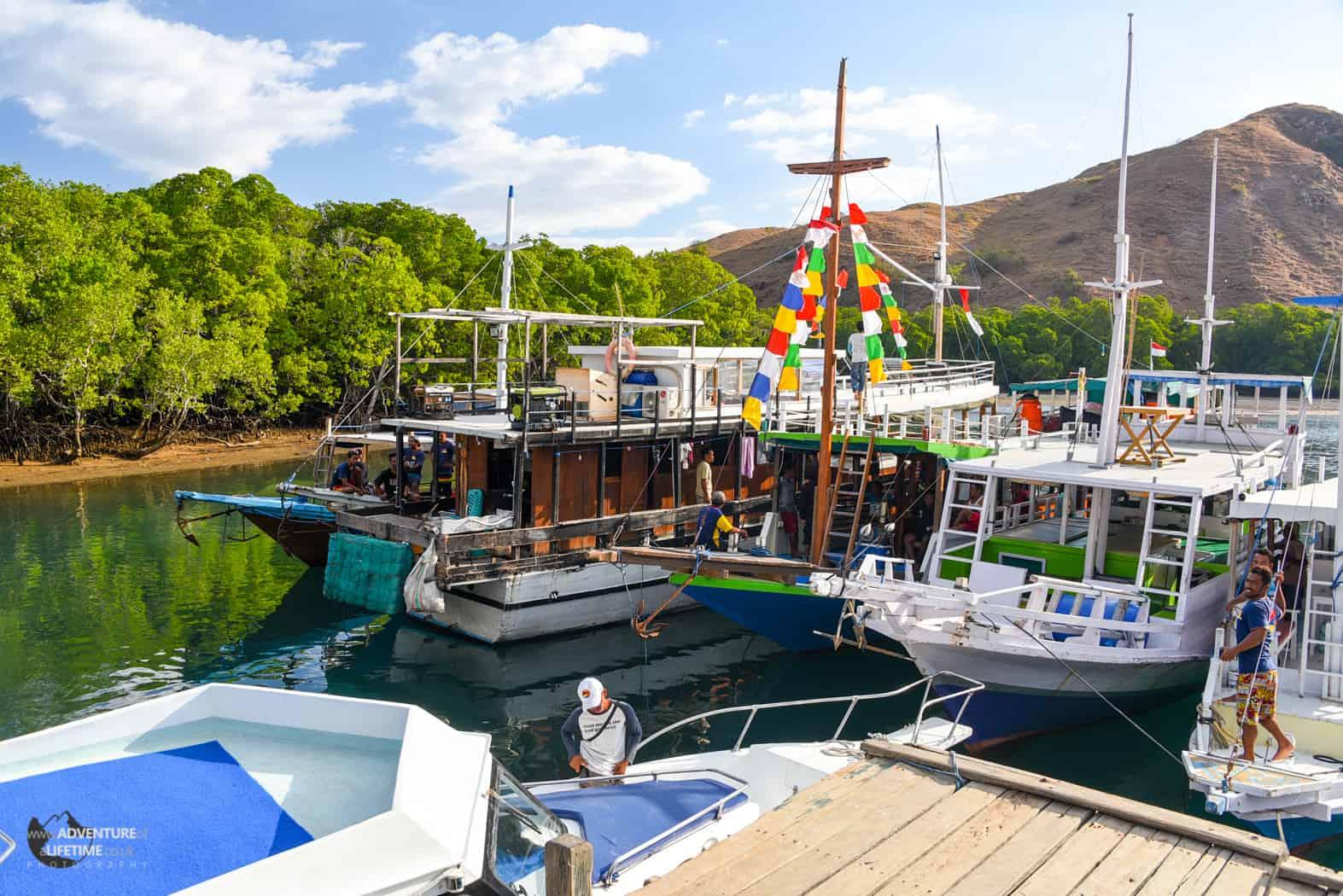 Rinca Island Harbour