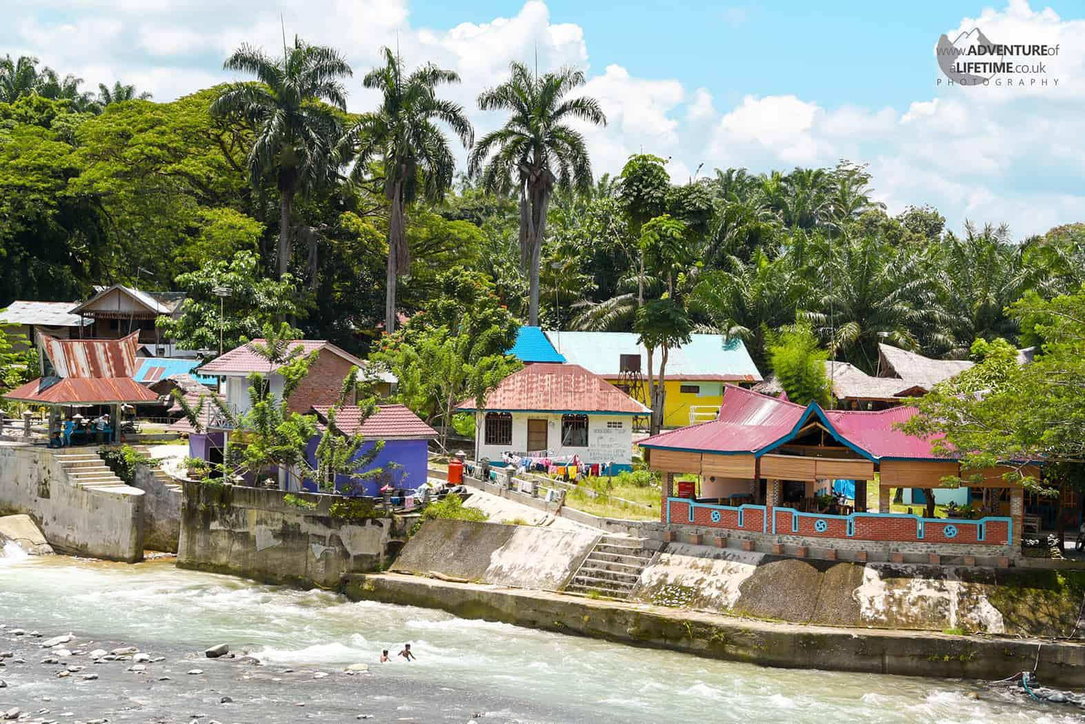 Bukit Lawang Villiage, North Sumatra