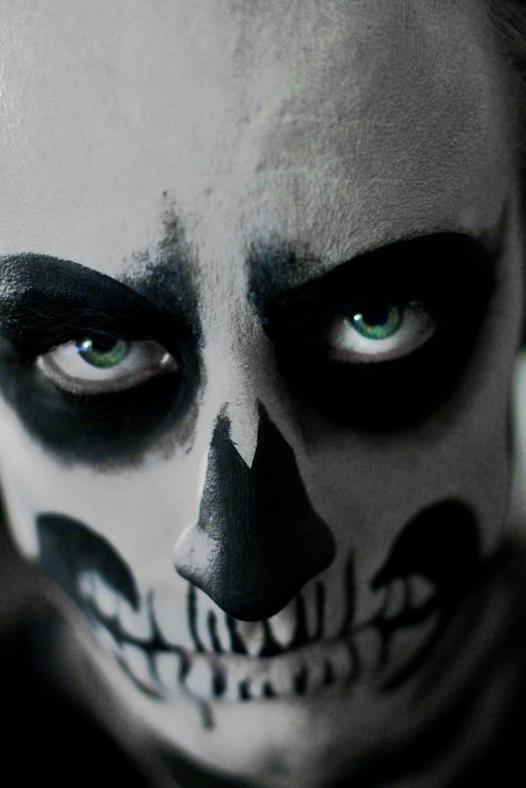 Halloween Skeleton Portrait