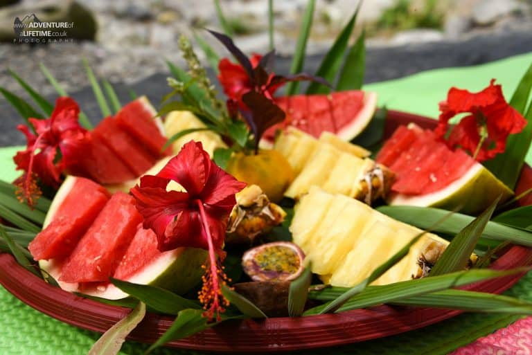 Jungle fruit platter, Sumatra