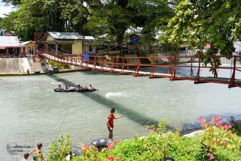 Villiage bridge in Bukit Lawang