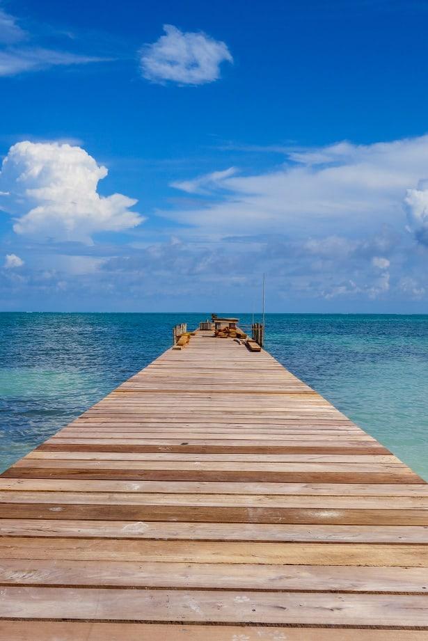 Belize Pier, Caye Caulker