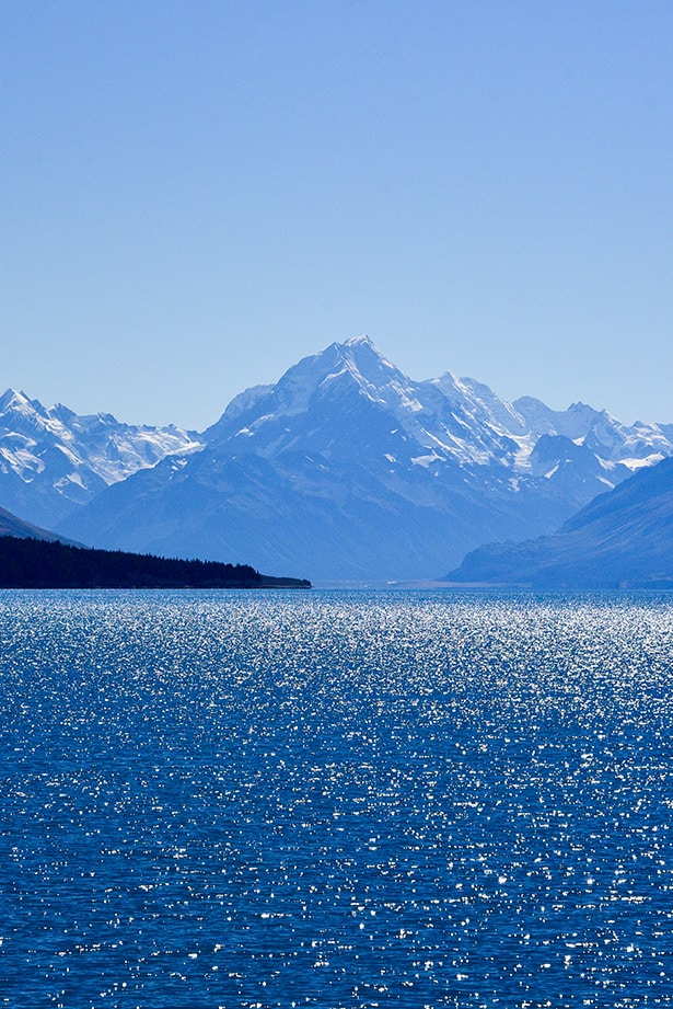 Mount Cook in New Zealand