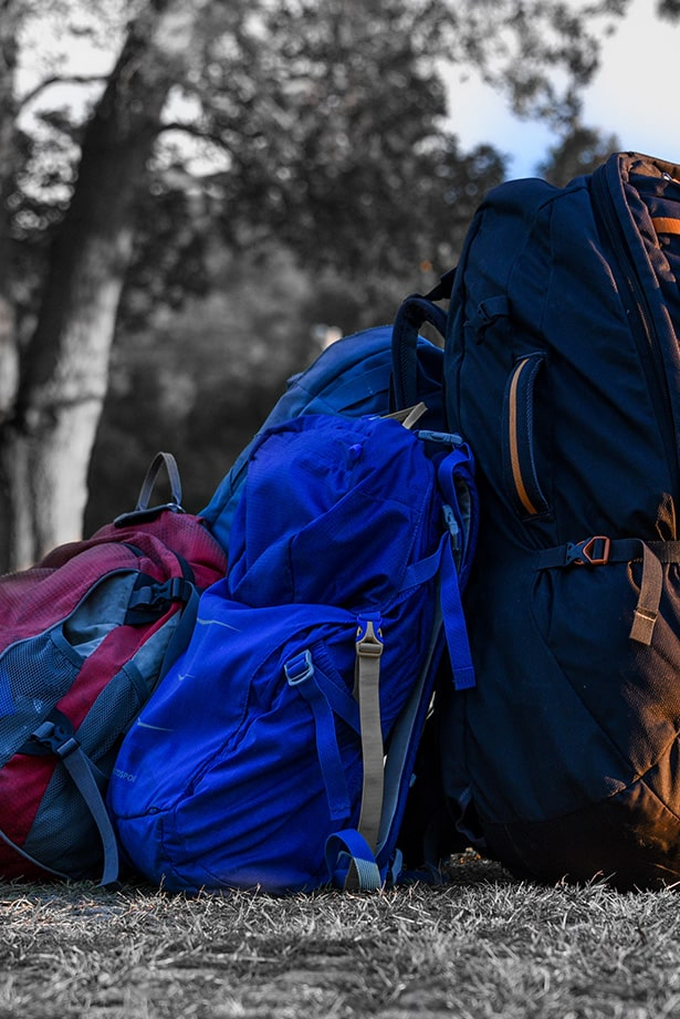 Backpacks for Travelling around the world